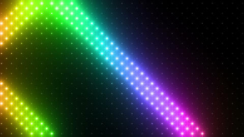 LED Wall 2 Wb Bs 1 Na R HD Stock Video Footage