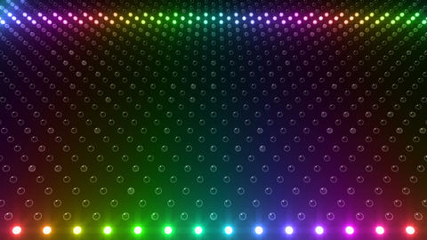 LED Wall 2 Wb Gb 1 BTR HD Stock Video Footage