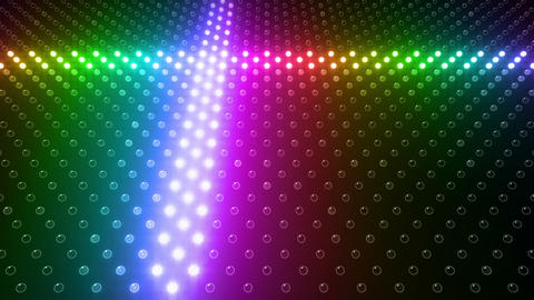LED Wall 2 Wb Gb 1 BTR HD Stock Video Footage