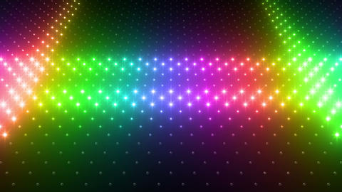 LED Wall 2 Wb Gs 1 LRR HD Stock Video Footage