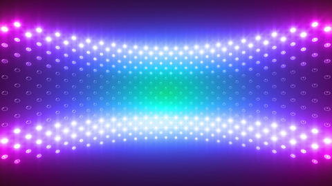 LED Wall 2 Wc Cb 2 BTR HD Stock Video Footage