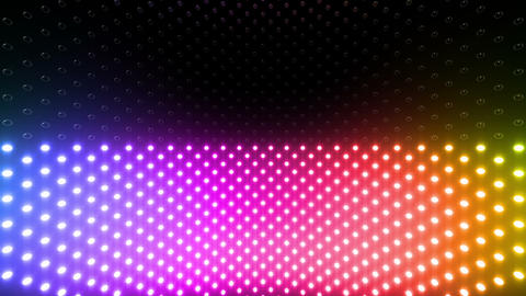 LED Wall 2 Ww Cb 1 BTR HD Stock Video Footage