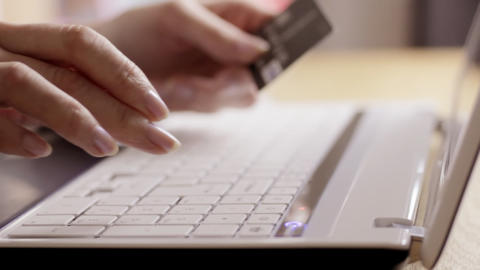 Online shopping Stock Video Footage
