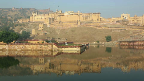 Amber (Amer) fort Stock Video Footage