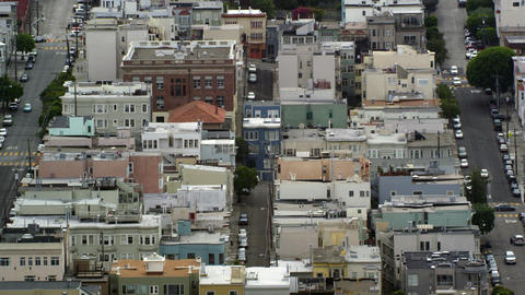 City neighborhoods in San Francisco Footage