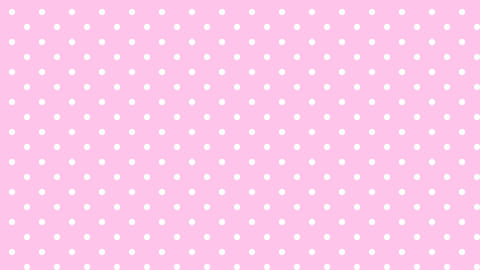 Dot pattern WHT Bg PNK 10sec loop CG動画