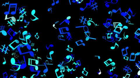 Clay par musical blk bl Animation