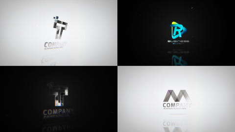 Clean Minimal Logo Reveals After Effects Template
