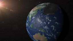 [alt video] Asteroid crashes into earth near Beijing China