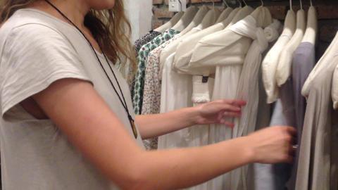 women pick choose cloth dress shopping check ライブ動画