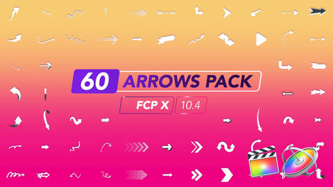 Arrows Pack Apple Motion Template