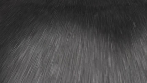 Driving on a road at night seamless loop Stock Video Footage
