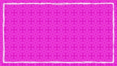 Border Frames Animated Kaleidoskopic Background