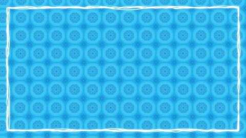 Sky Blue Texturized Animated Border Frame Animation