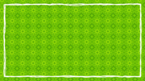 Border Frames Animated Kaleidoskopic Background 1