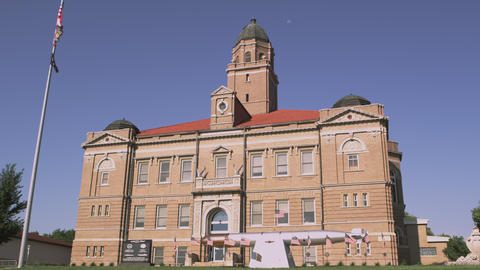 Saunders County Courthouse Footage