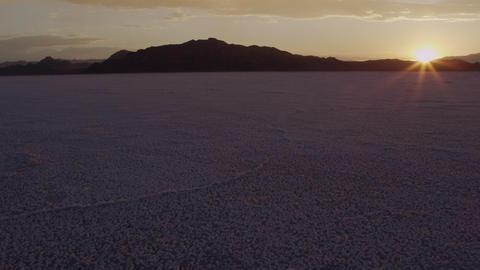 Utah Salt Flats Footage