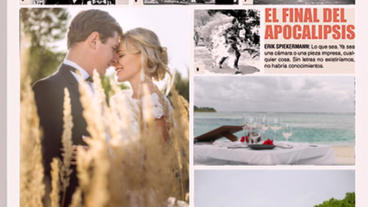 Wedding News Paper After Effects Template