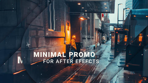 Minimal Promo After Effects Template