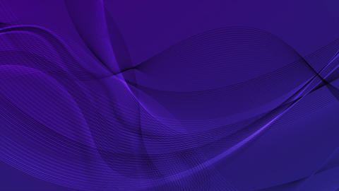 Abstract dark trendy violet blue waves video animation Animation