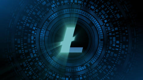Litecoin Cryptocurrency Animation Pack 2