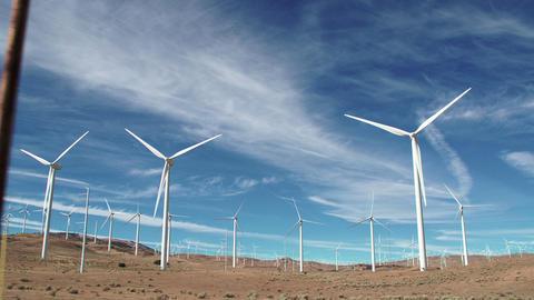 Large Wind Farm California Archivo
