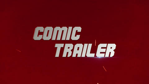 Comics Trailer Premiere Pro Template