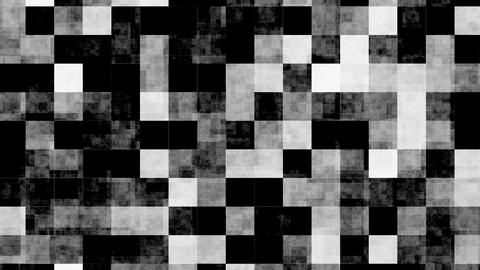 Black and White Squares Pattern Animation Animation
