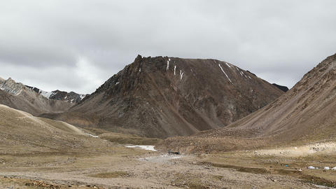 Clouds Moving over the Kailash Mount, Kora Tibet Footage