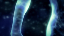 Human Energy Body Close-up Arm and Hand Stock Video Footage