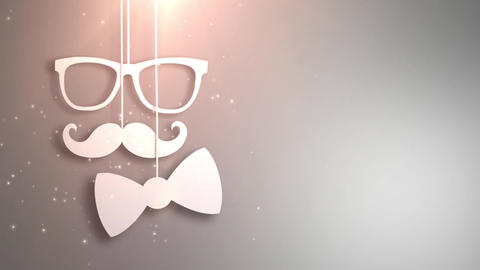 Happy father day white background animation Animation