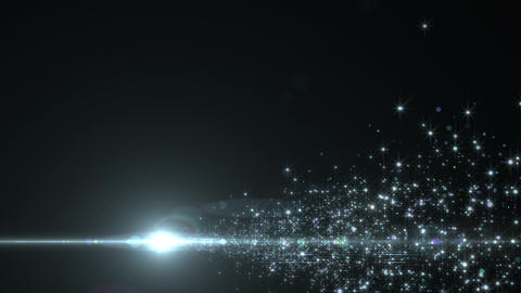 Lens Flares and Particles 16 R4 4k Animation