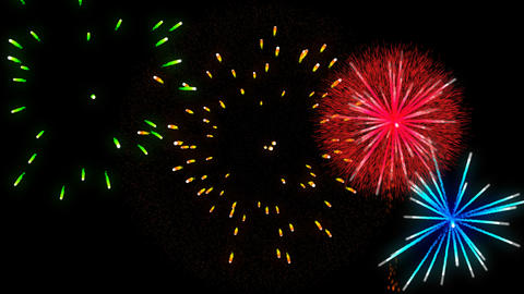 Fireworks transparence background alpha vs2 Animation