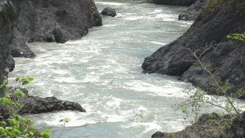 Mountain stream00004 Footage