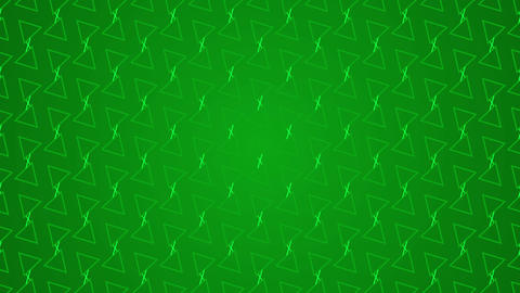 Animation gradient background with triangle and lines Live Action