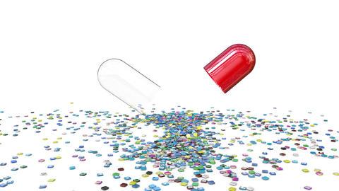 Social pill Animación