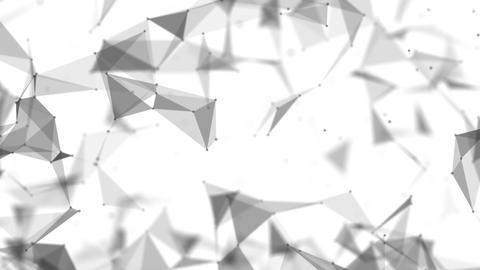 Weave planes in black and white space Animation