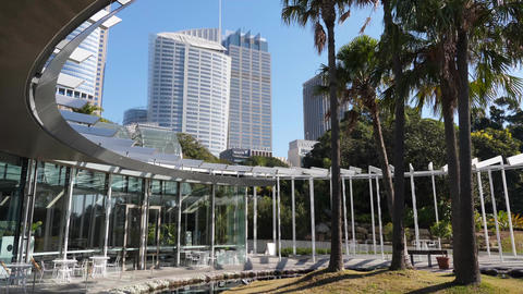 The Calyx Botanic Gardens Sydney Australia Footage