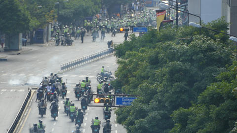 Protest for freedom in Venezuela, Against communism, Against socialism GIF