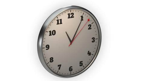 clock, time lapse, footage ideal for representing concepts such as business Archivo