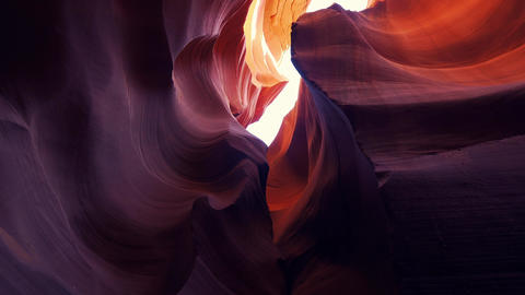 Lower Antelope Canyon - a breathtaking walk through Live Action