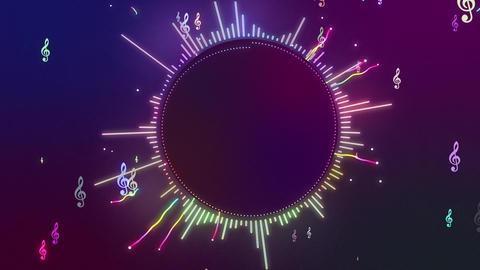 Audio Spectrum Music Visualizer 10 Animation
