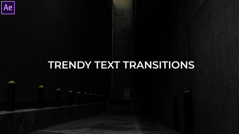 Text Animations & Text Transitions Presets Pack 1