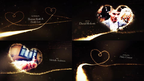 Romantic Wedding Pack After Effects Template