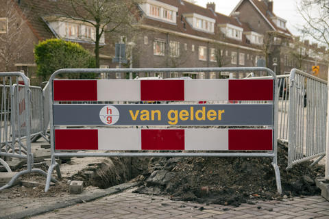 Billboard Van Gelder At Betondorp Amsterdam The Netherlands 2019 Fotografía