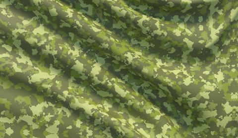 Military war background camouflage khaki fabric texture Fotografía