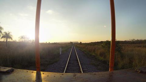 Train Trip Footage