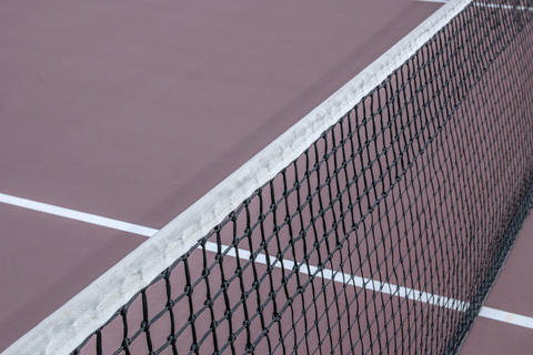 Close Up Of A Tennis Net At Amsterdam The Netherlands 2019 Photo