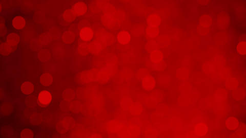 Dreamy Moving Light Bokeh Abstract Background 4k Resolution Glowing Red Color Light Particles Animation