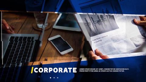 Corporate Slideshow Premiere Proテンプレート